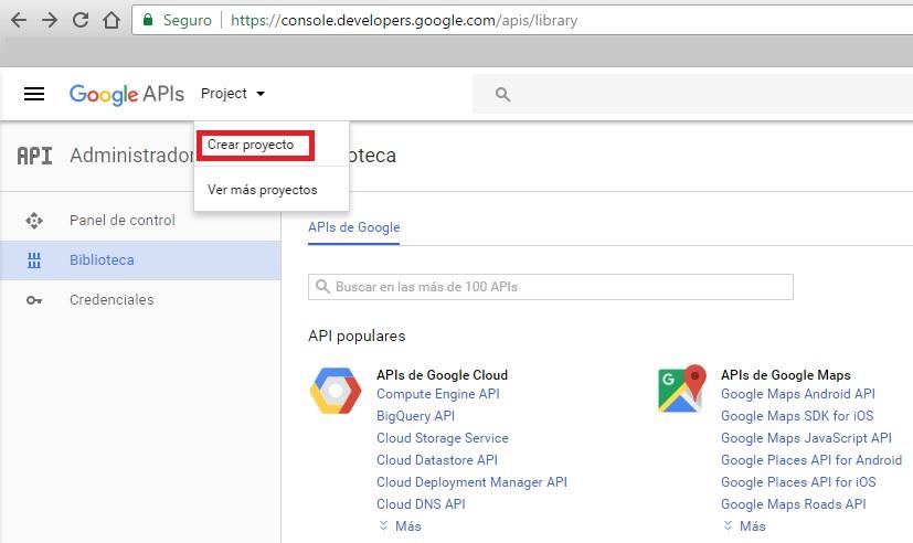 Soluci n a google maps api key is required nksistemas - Google map api key console ...